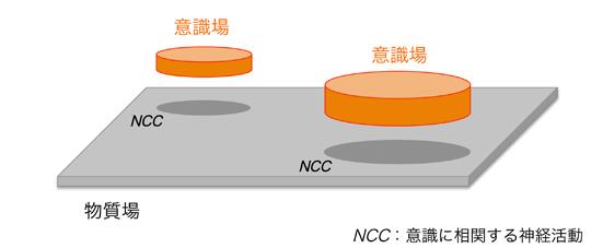 図2 意識場と物質場